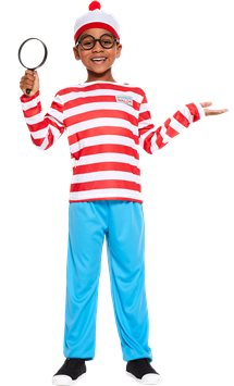 Where's Wally - Child and Teen Costume