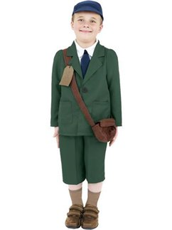 WW2 Evacuee Boy