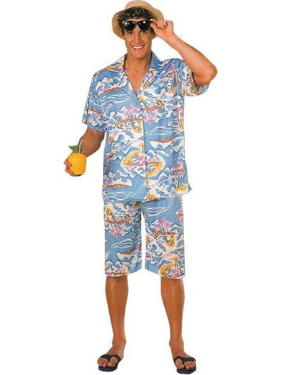 Hawaiian Man - Adult Costume