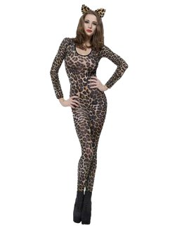 Bodysuit Cheetah Print Brown