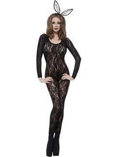 Bodysuit Black Lace