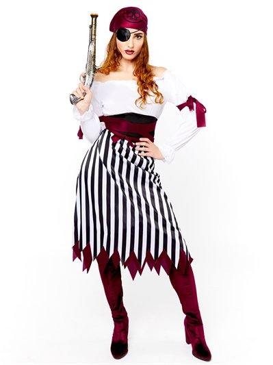 Pirate Lady - Adult Costume