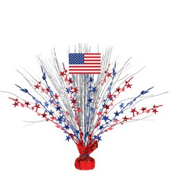 4th July American Flag Spray Centrepiece