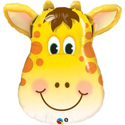 "Birthday Jolly Giraffe Supersize Balloon - 32"" Foil"