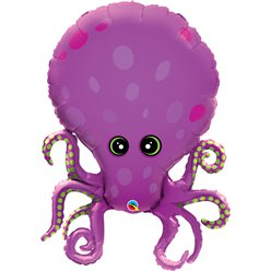 "Amazing Octopus Supersize Balloon - 35"" Foil"