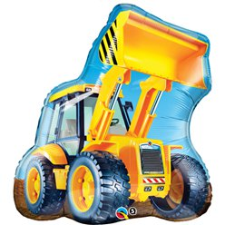 "Birthday Construction Loader Supersize Balloon - 32"" Foil"