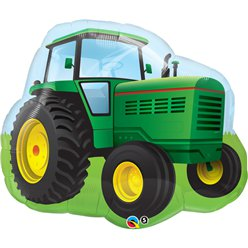"Birthday Farm Tractor Supersize Balloon - 34"" Foil"