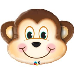 "Mischievous Monkey Supersize Balloon - 35"" Foil"