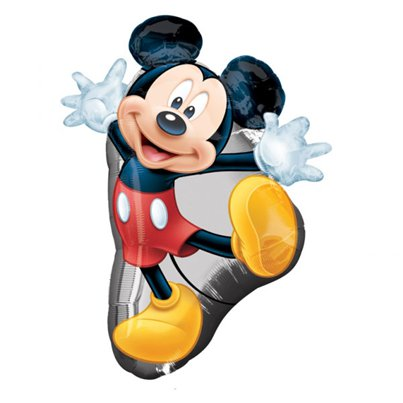 "Micky Mouse Shaped Balloon - 31"" Foil"