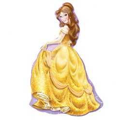 "Disney Belle SuperShape Balloon - 39"" Foil"