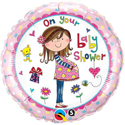 "On Your Baby Shower Balloon - 18"" Foil"