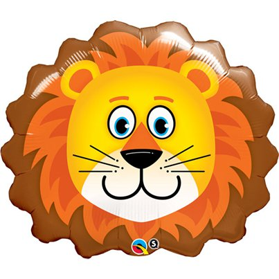 "Loveable Lion Supersize Balloon - 29"" Foil"