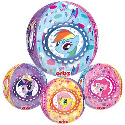 "My Little Pony Orbz Balloon - 16"" Foil"