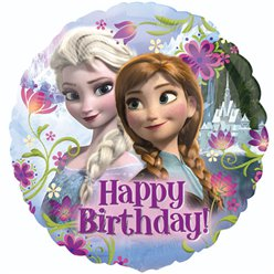 "Frozen Happy Birthday Balloon - 18"" Foil"