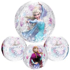 "Disney Frozen Clear Orbz Balloon - 16"" Foil"