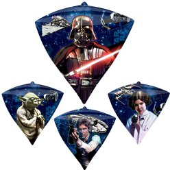 "Star Wars Diamondz Balloon - 24"" Foil"