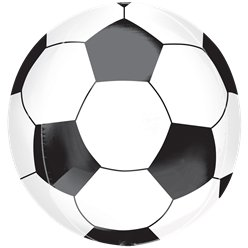 "Soccer Ball Orbz Balloon - 16"" Foil"