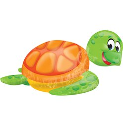 "Silly Sea Turtle SuperShape Balloon - 20"" Foil"