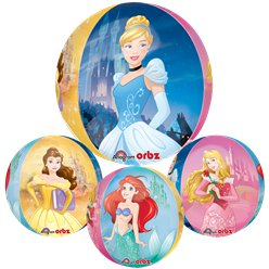 "Disney Princess Clear Orbz Balloon - 16"" Foil"