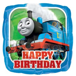 Thomas the Tank Engine Happy Birthday Foil Balloon - 18""
