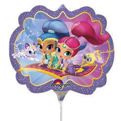 Shimmer & Shine Mini Shape Balloon - 9""