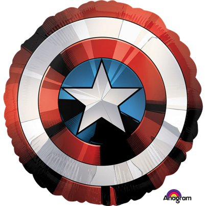 Avengers Shield XL Foil Balloon - 28""