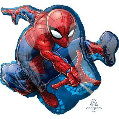 Spider-man SuperShape Foil Balloon - 29""