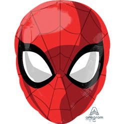 "Spider-Man Head - 18"" Foil Balloon"