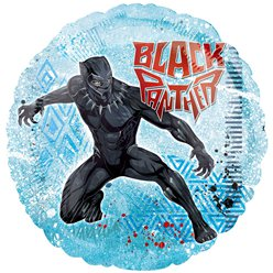"Black Panther Balloon - 18"" Foil"