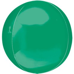 "Green Orbz Balloon - 16"" Foil - Unpackaged"
