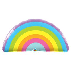 "Radiant Rainbow Supersize Balloon - 36"" Foil"