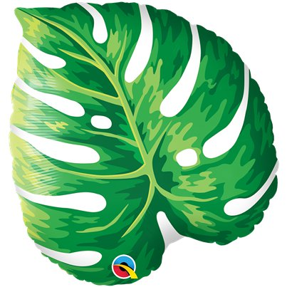 "Tropical Leaf Supersize Balloon - 21"" Foil"