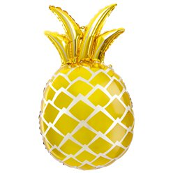 Gold Pineapple Supersize Foil Balloon - 26""