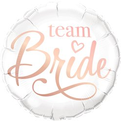 "Team Bride Balloon - 18"" Foil"