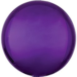"Purple Orbz Balloon - 16"" Foil"