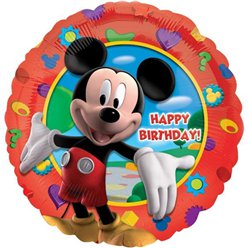 "Mickey Clubhouse Happy Birthday Balloon - 18"" Foil"