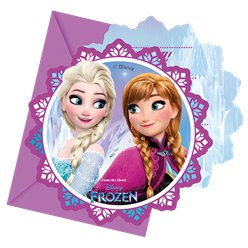 Disney Frozen Invites - Party Invitation Cards