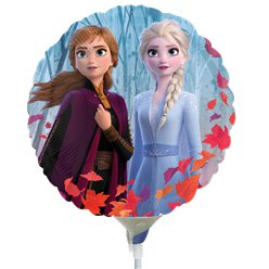 "Disney Frozen 2 Mini Airfilled Balloon - 9"" Foil"