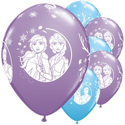 "Disney Frozen 2 Balloons - 11"" Latex"
