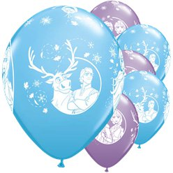 "Disney Frozen 2 Balloons - 12"" Latex"
