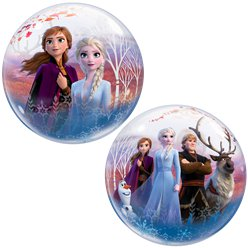 Disney Frozen 2 Bubble Balloon - 22""