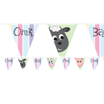 Farmyard Party Bunting - 2.7m