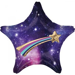 "Galaxy Multi Balloon Star Supersize Balloon - 27"" Foil"