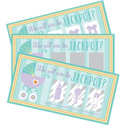 Baby Shower Scratch Cards