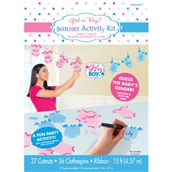 Gender Reveal Activity Game