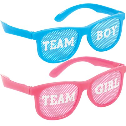 Gender Reveal Glasses
