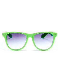 Green Nerd Glasses