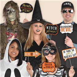 Halloween Photo Booth Message Kit