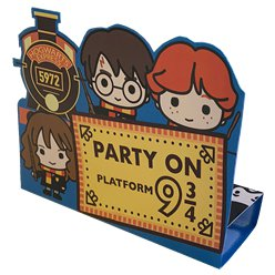 Harry Potter Pop Up Party Invitations
