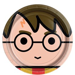 Harry Potter Paper Plates - 23cm